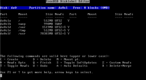 FreeBSD Installation Screenshot 7